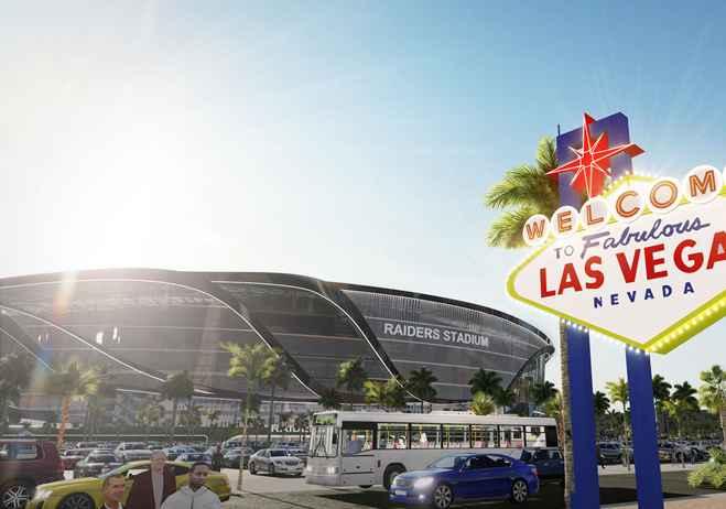 Nuevo estadio de los Raiders, diseñado por Manica Architecture