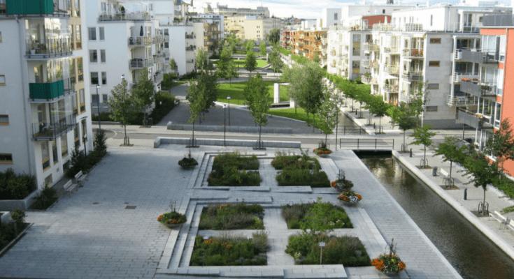 Primer barrio sustentable en Estocolmo