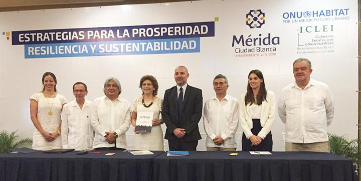 Mérida presentan estrategias a favor de la Nueva Agenda Urbana