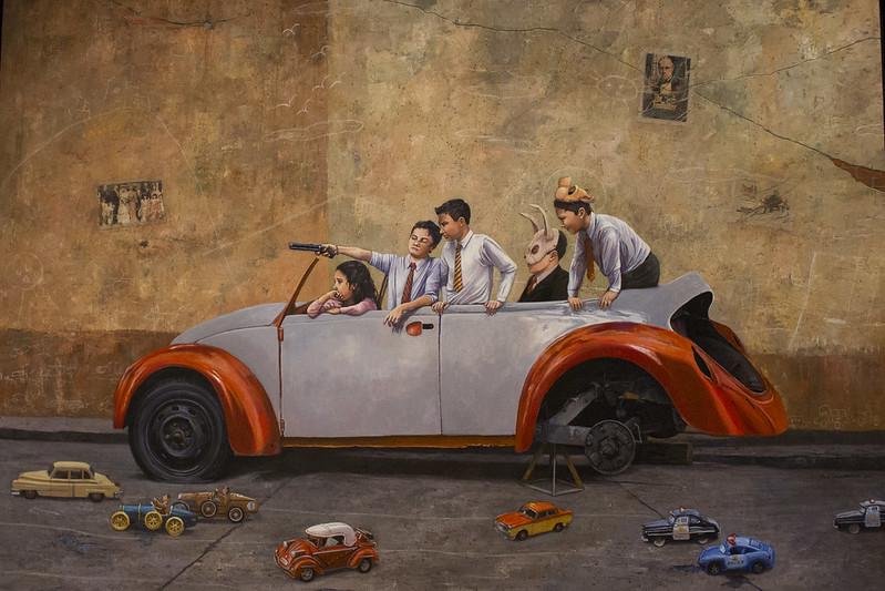 Exposición 'Pintar la ciudad. La ciudad pintada' reflexionar sobre la CDMX - centrourbano.com