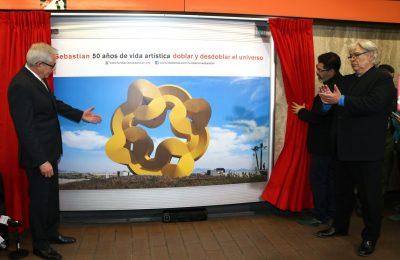 STC inaugura exposición 'Doblar y desdoblar el universo'