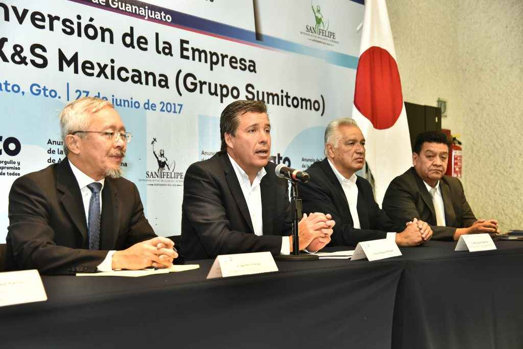 Sumitomo, primera empresa que invierte en Parque San Felipe