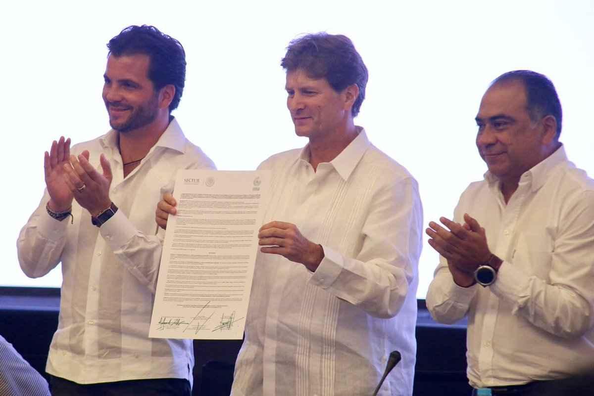 Realizan firma para fomentar turismo sustentable
