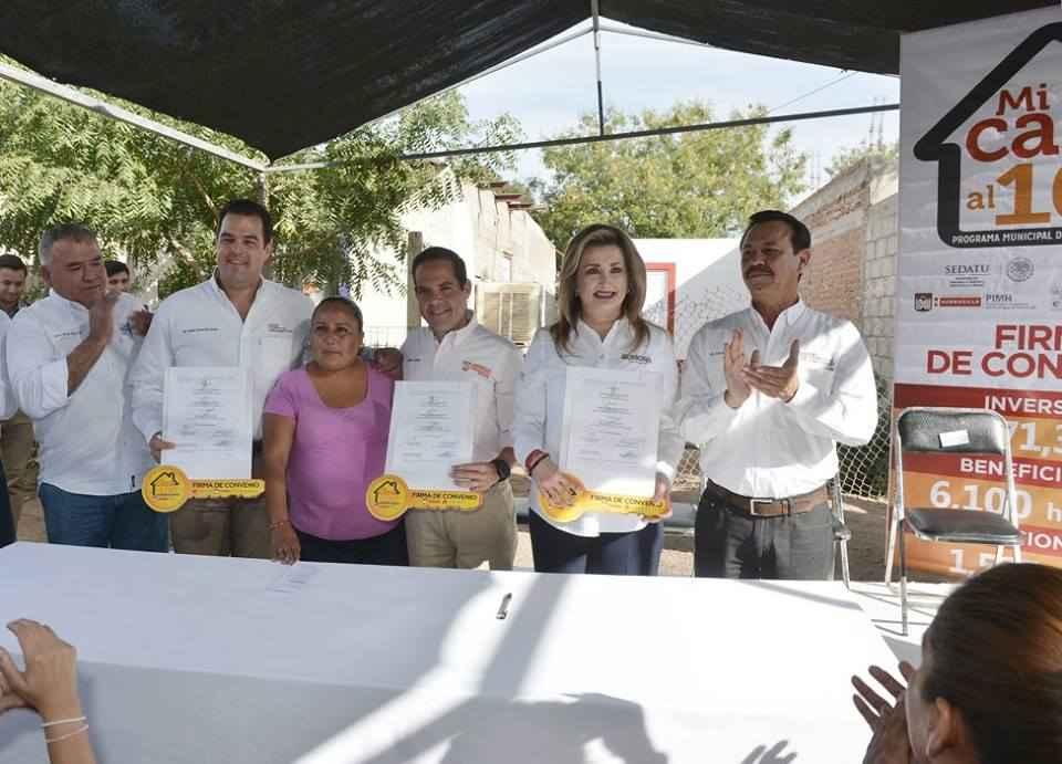Construyen 1,524 cuartos adicionales en Hermosillo