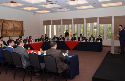 Fonatur presentó proyectos a Cámara Española de Comercio