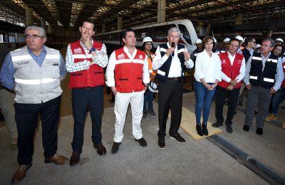 La línea 3 del Tren Ligero de Guadalajara estará lista en julio