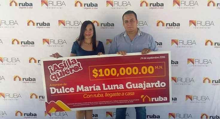 Entrega Ruba premios del concurso '¡Así la quiero!'