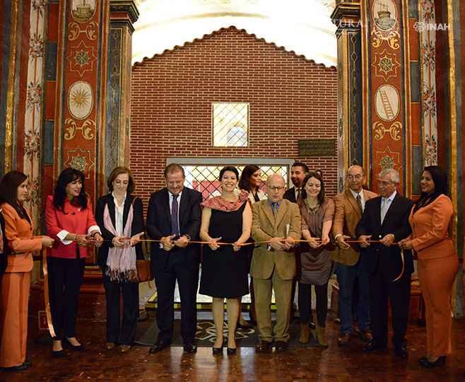 Concluye intervención arquitectónica del Camarín de la Virgen de Loreto