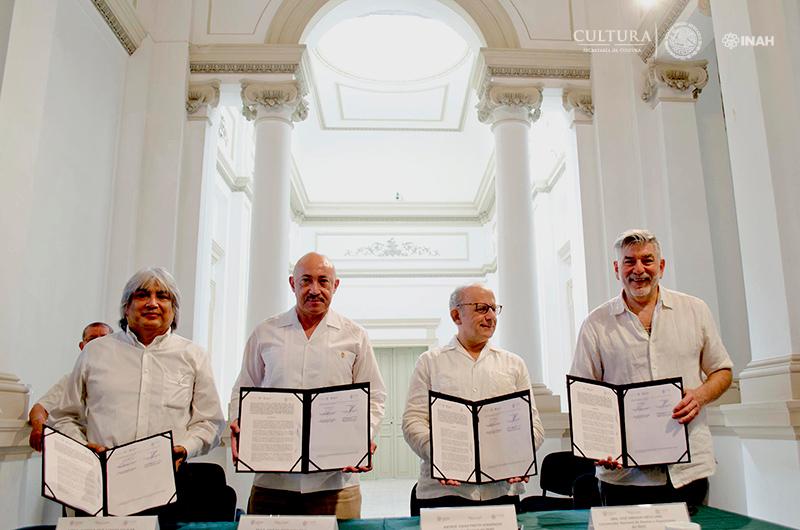 Mérida alista proyección arquitectónica del Conjunto Cultural Palacio Cantón