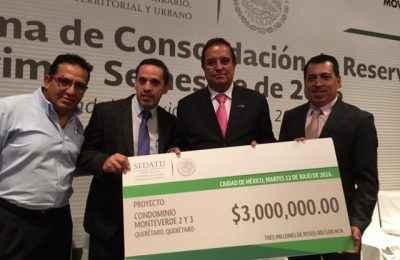 Entrega Sedatu apoyos a 1,732 familias en desarrollos de Ruba en Querétaro y BC