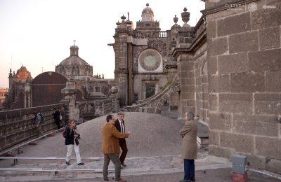 Franceses ayudarán a recuperar monumentos dañados por el sismo