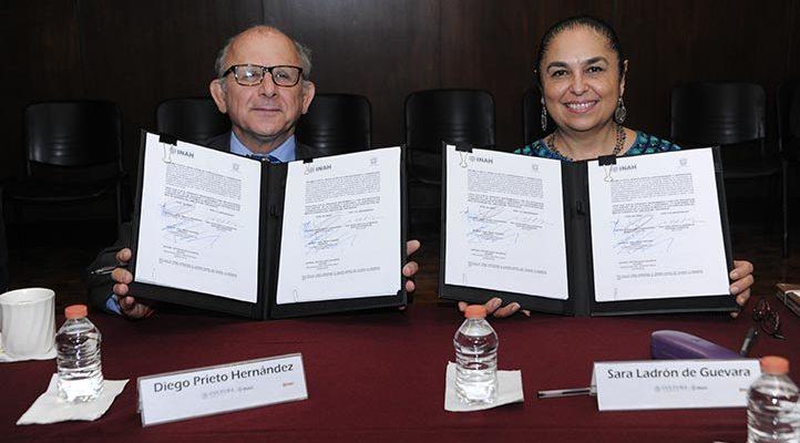 INAH y Universidad Veracruzana recuperarán y protegerán el patrimonio estatal