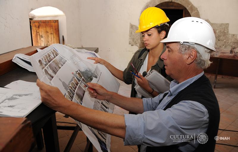 Especialistas de Roma ayudarán a restaurar dos recintos del siglo XVI