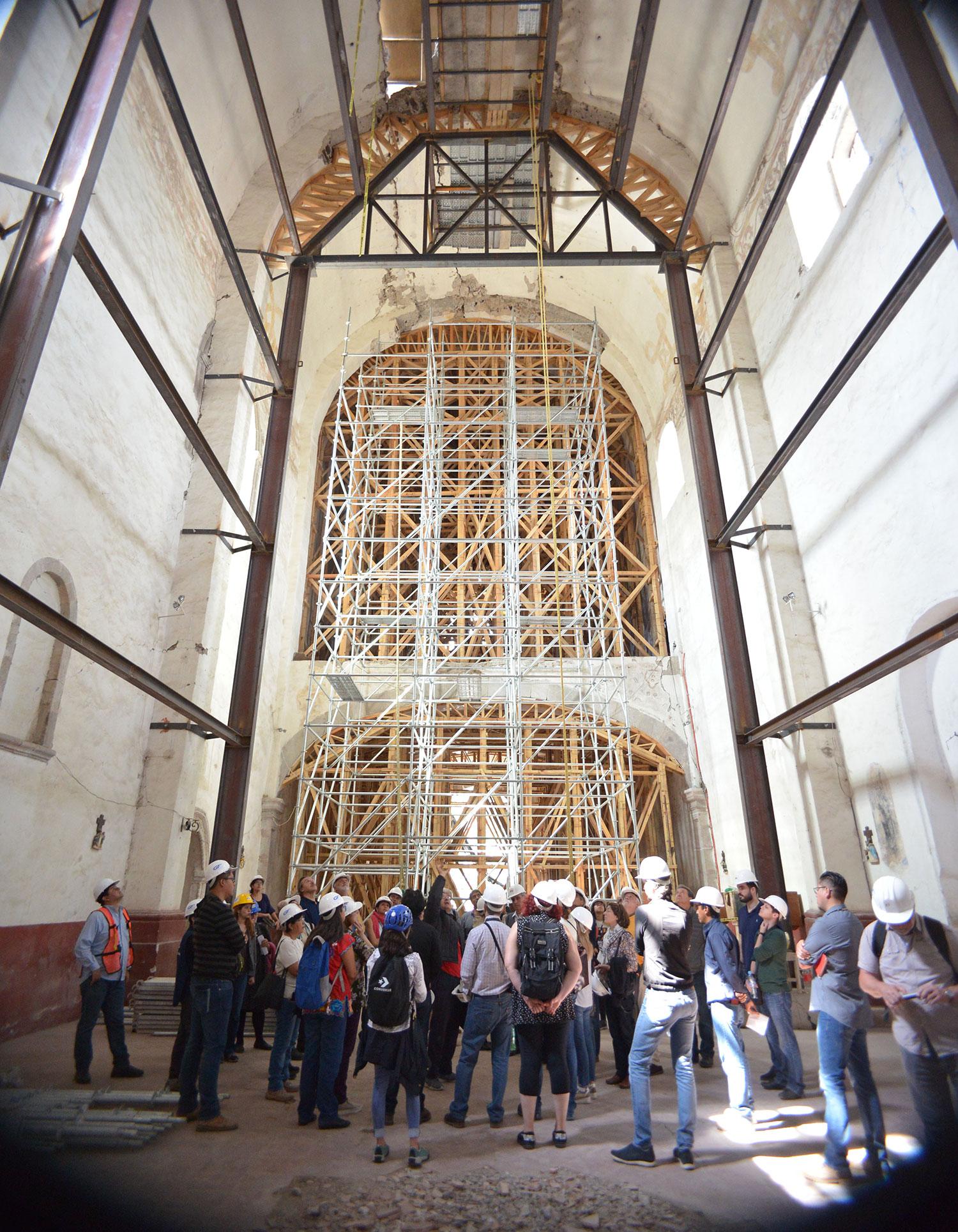 Ex convento dañado por sismo 19S será restaurado en su totalidad
