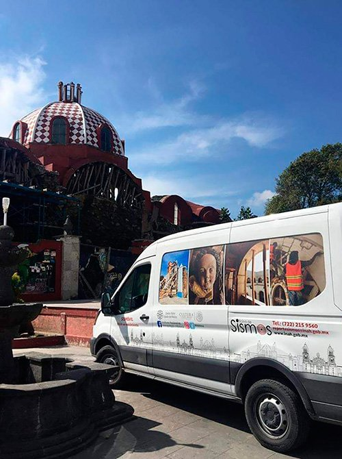 INAH da a conocer avance en restauraciones por sismo 19S