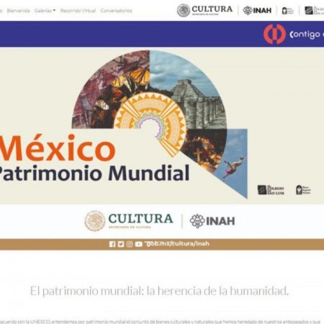 """Inauguran exposición virtual """"México en el Patrimonio Mundial"""""""