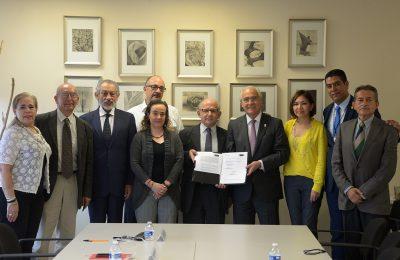 INAH y FCARM firman convenio en pro del patrimonio cultural