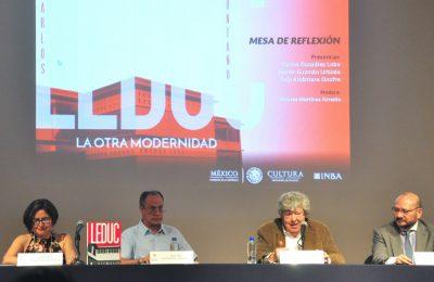 Recuerdan al arquitecto Carlos Leduc Montaño en el Palacio de Bellas Artes