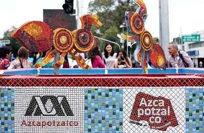Universitarios intervienen fuentes de Calzada Camarones