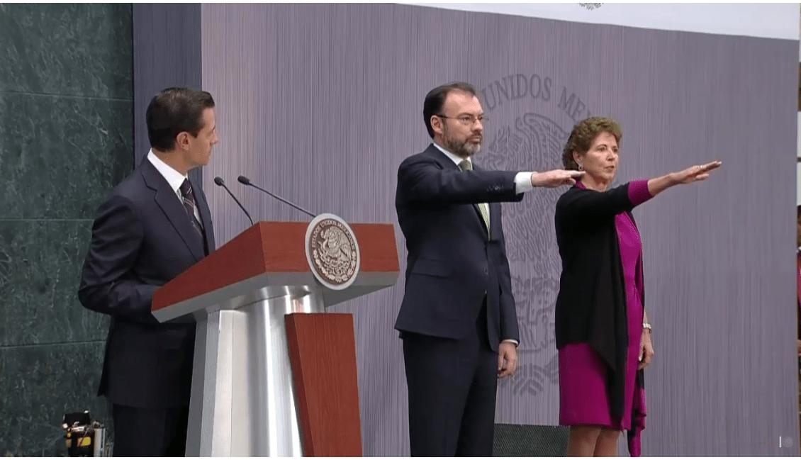 EPN nombró a los titulares de SRE y Cultura