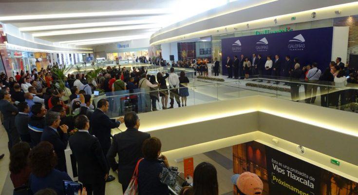 Inauguran centro comercial Galerías Tlaxcala