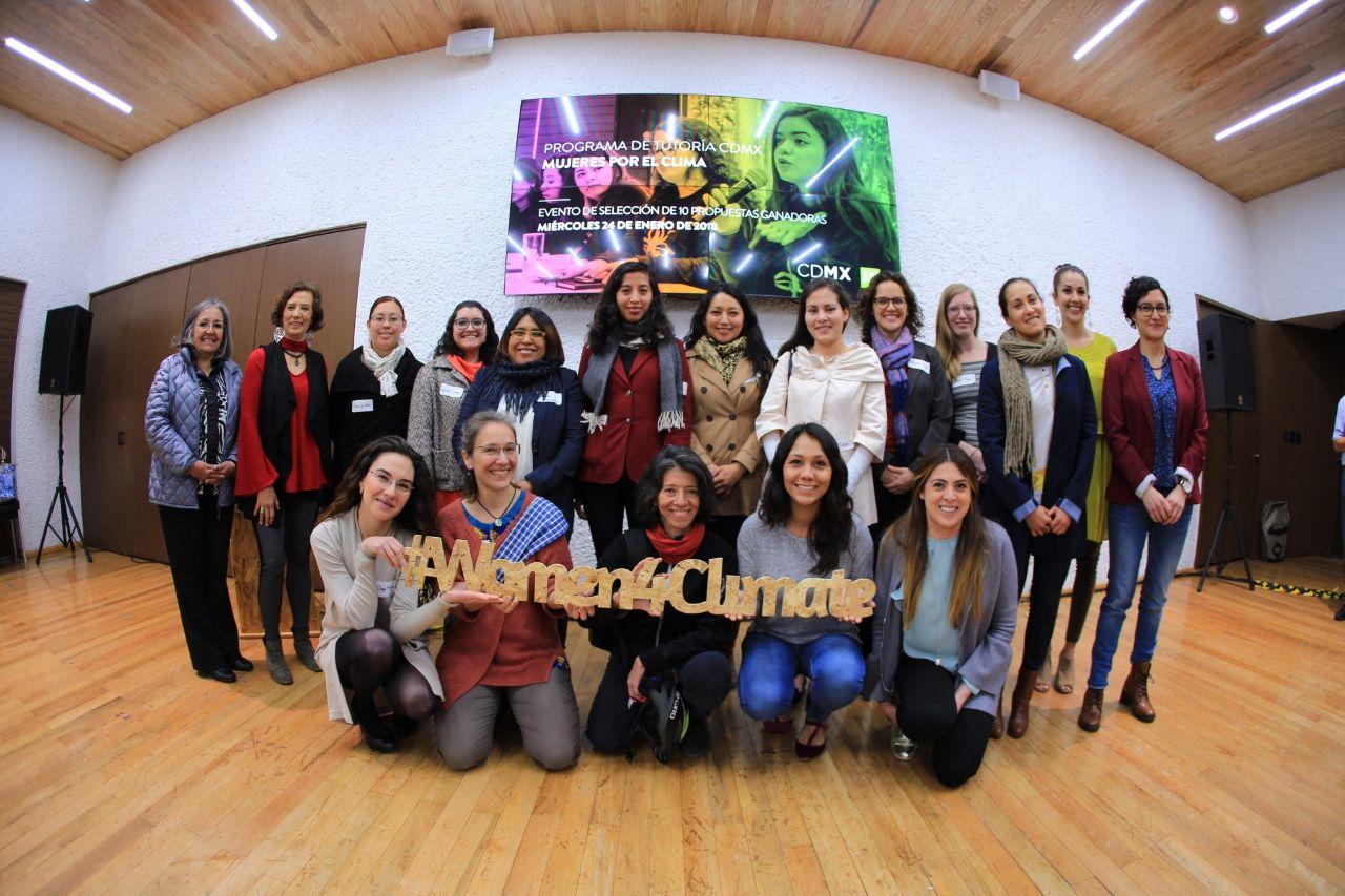 Anuncian ganadoras de 'Mujeres por el Clima'