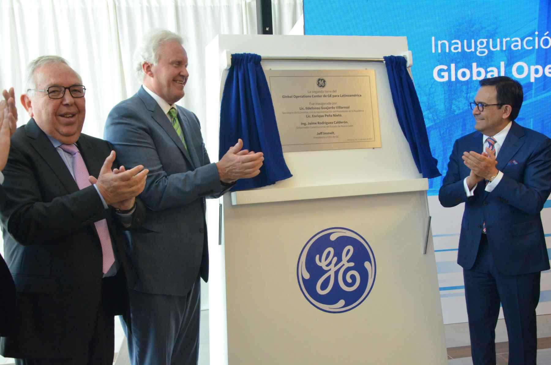 GE amplió su centro de operaciones en Nuevo León