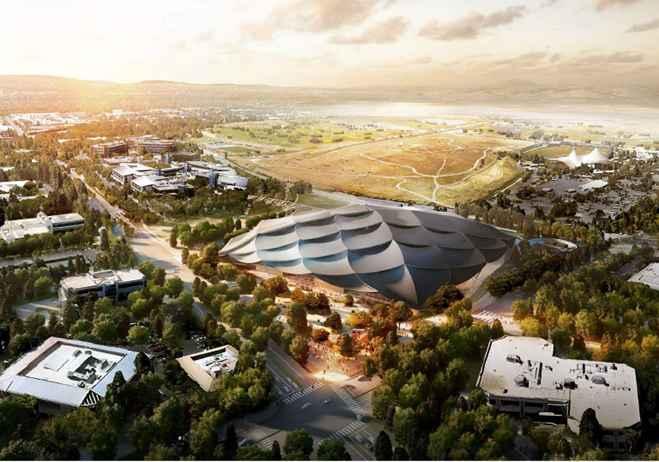 Google alista gigantesco proyecto en Silicon Valley