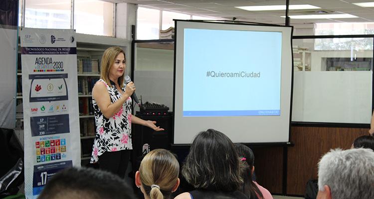 ONU-Hábitat presenta NAU a universitarios de Reynosa