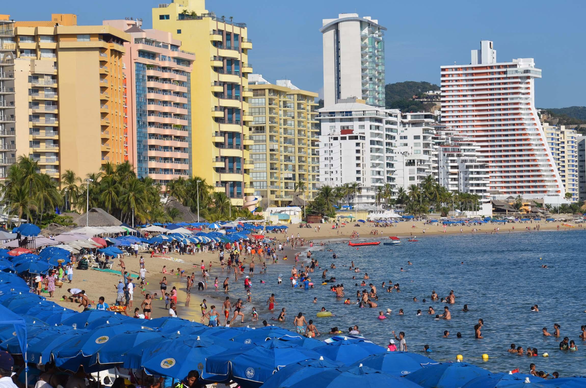 Guerrero reporta ocupación del 75% en inicio de vacaciones