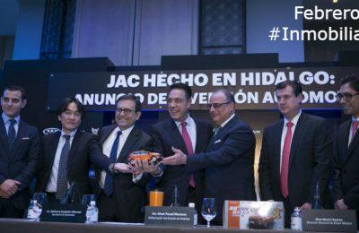 #LoMejorDelAño Anuncian inversión industrial en Hidalgo