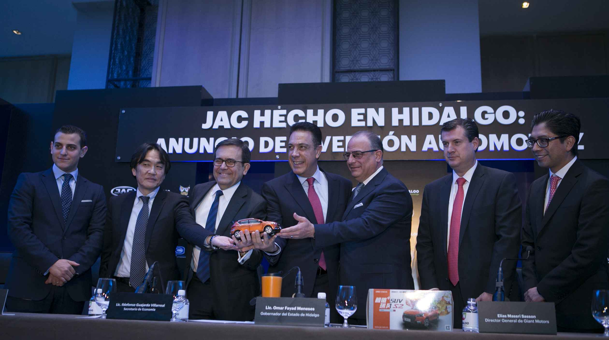 Anuncian inversión industrial en Hidalgo