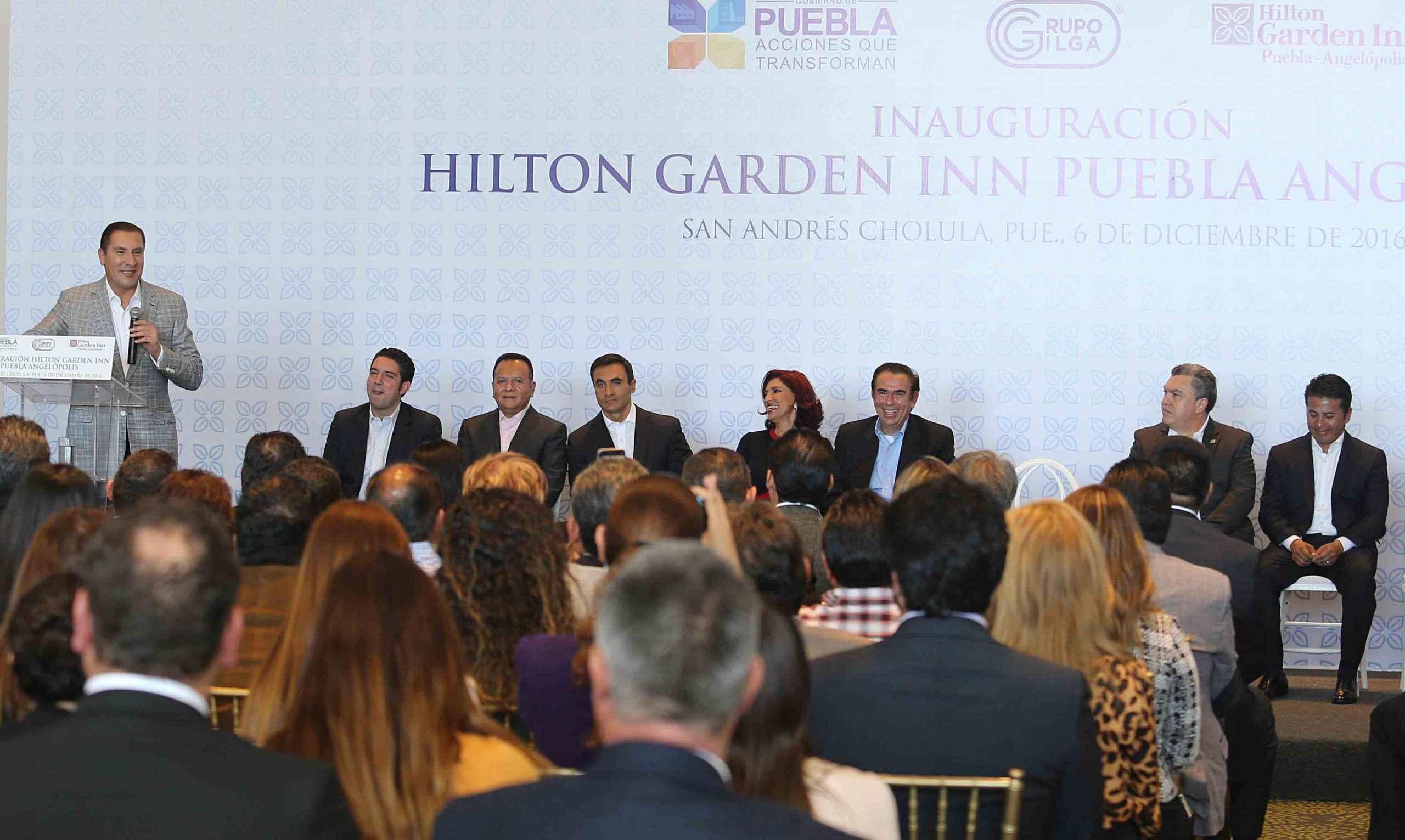 Grupo Gilga inaugura Hilton Garden Inn en Cholula