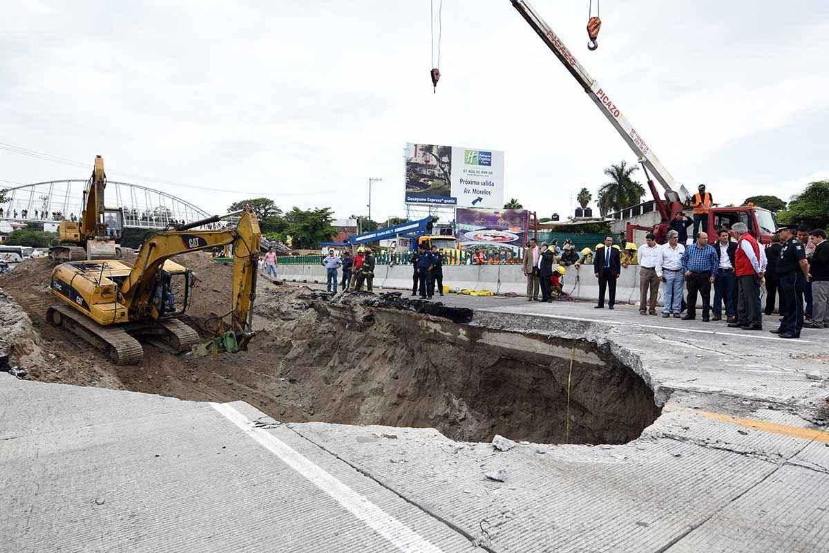 CICM, UNAM y CICEM, a cargo del peritaje del Paso Exprés