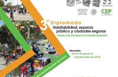 UNAM abre diplomado sobre espacio público y ciudades seguras