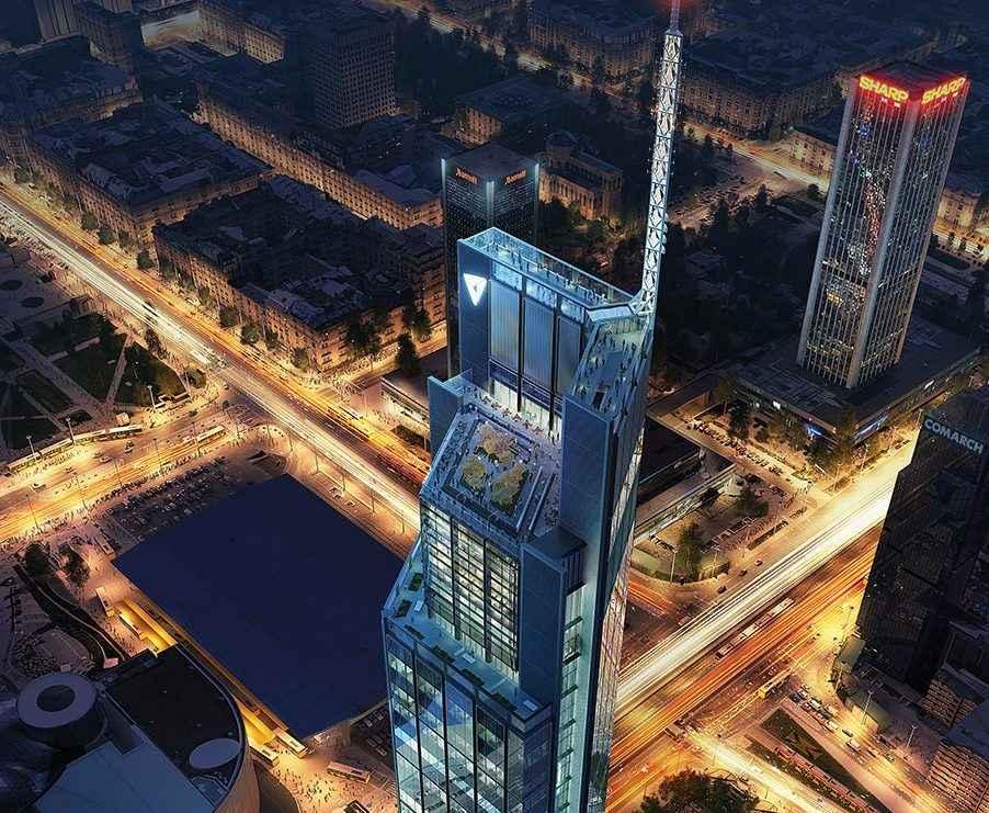 Foster+Partners diseña la torre de usos mixtos más alta de Polonia