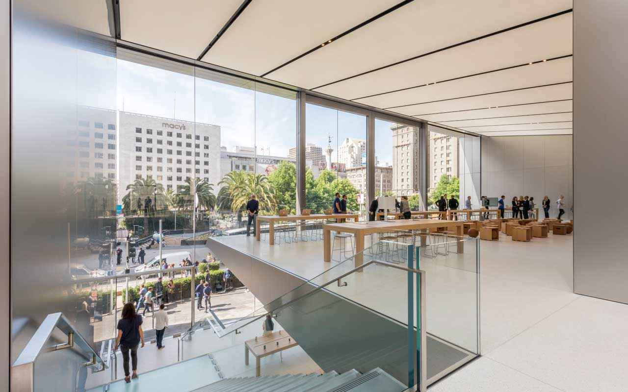 Foster + Partners diseña Apple Store Union Square en San Francisco