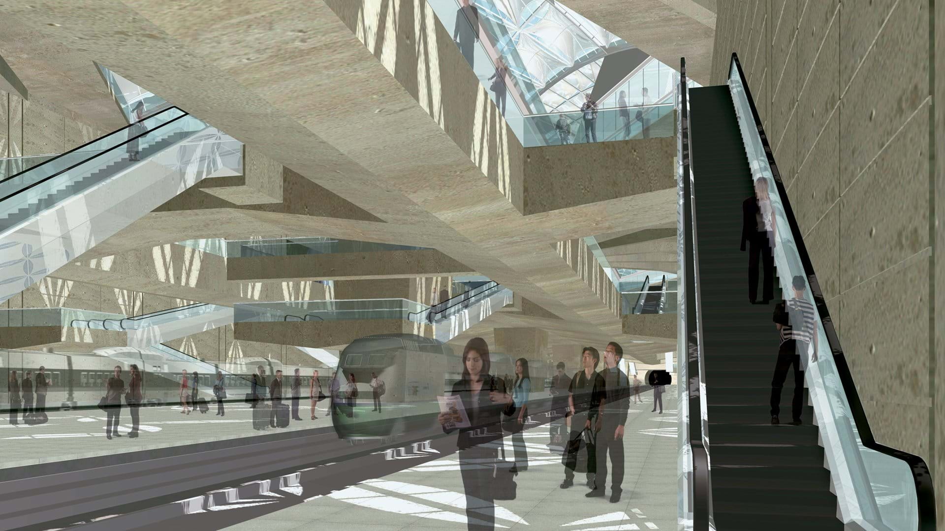 Foster + Partners diseña estación de ferrocarril en Florencia