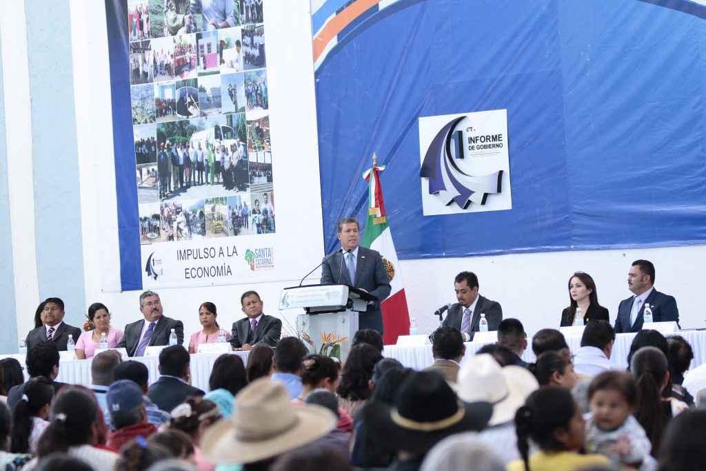 Promueven obras de desarrollo en Santa Catarina, Guanajuato