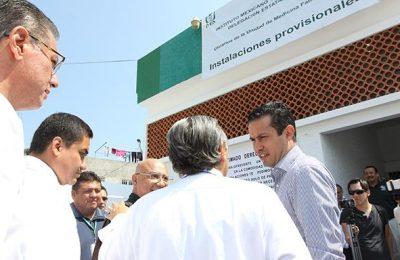 Concluyó rehabilitación de clínica del IMSS en Cuernavaca