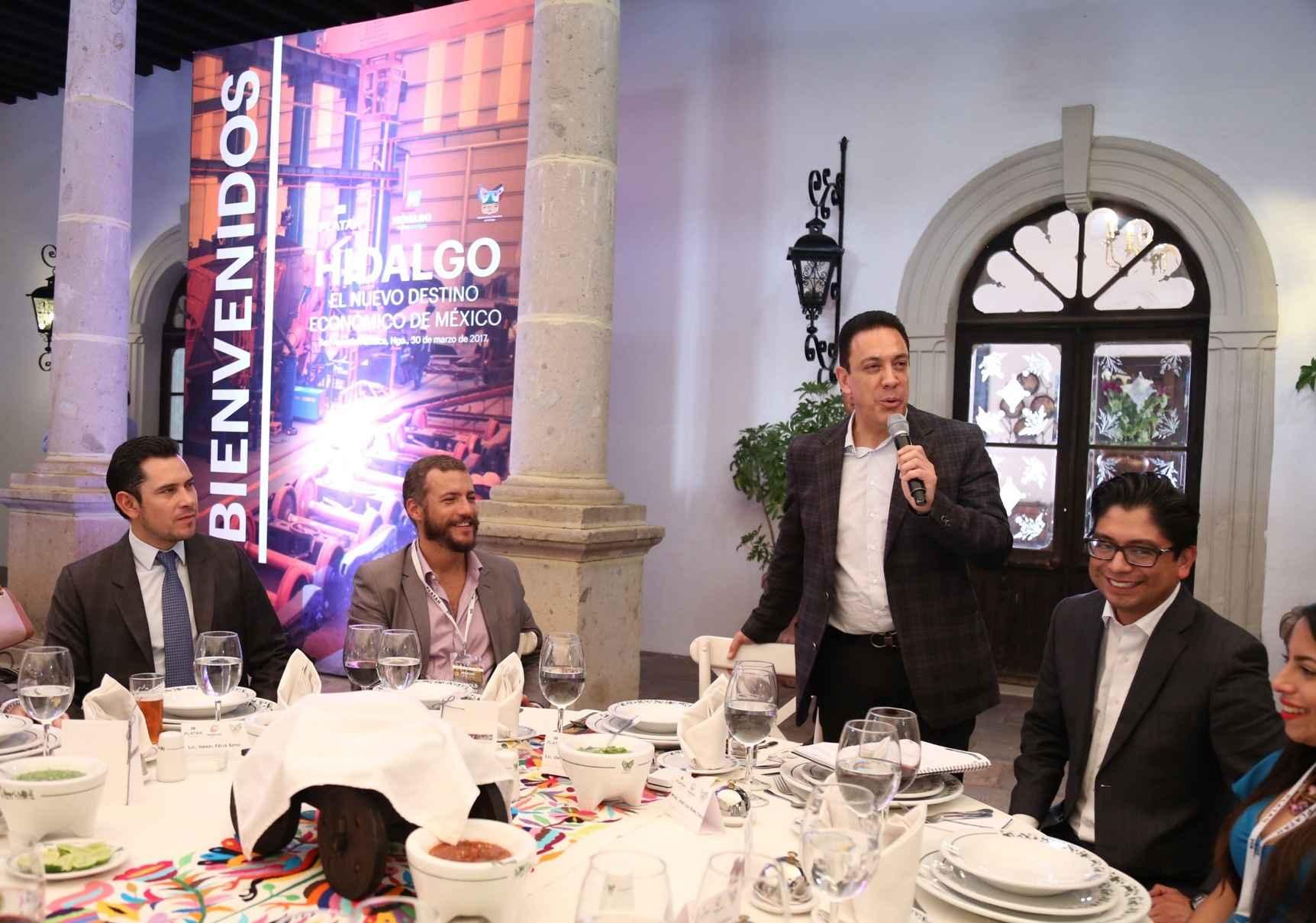 Hidalgo busca mayores inversiones en parques industriales