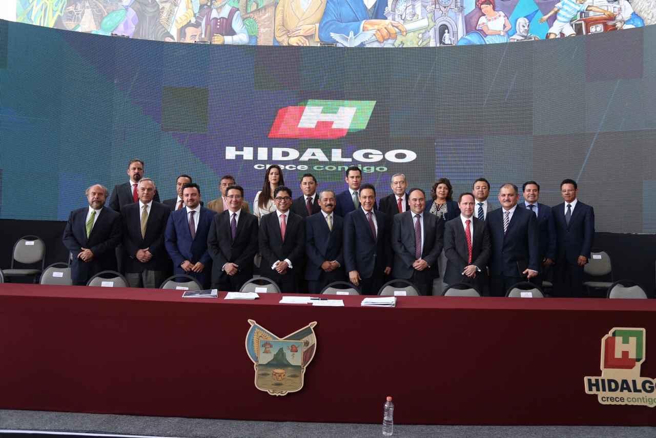 Se estableció clúster de naves industriales de Hidalgo