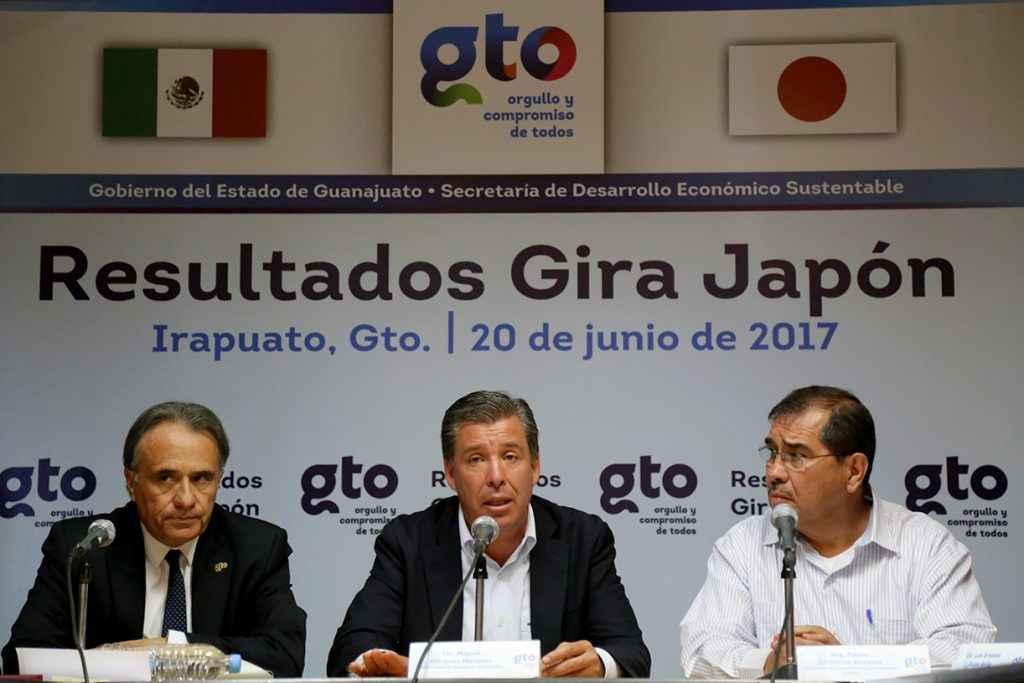 Inversiones japonesas llegarán a Guanajuato