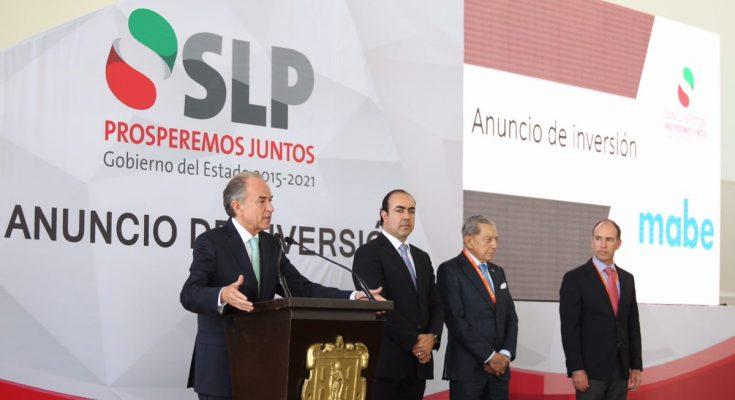 Incrementarán inversiones industriales en SLP