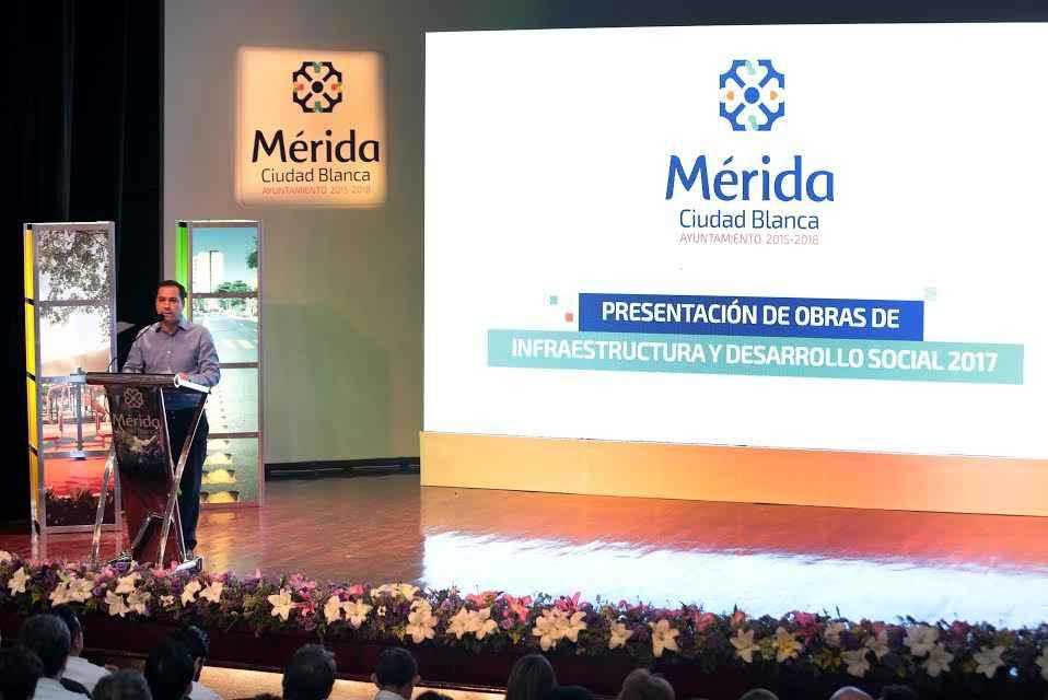 Mérida busca mejorar su infraestructura y desarrollo social
