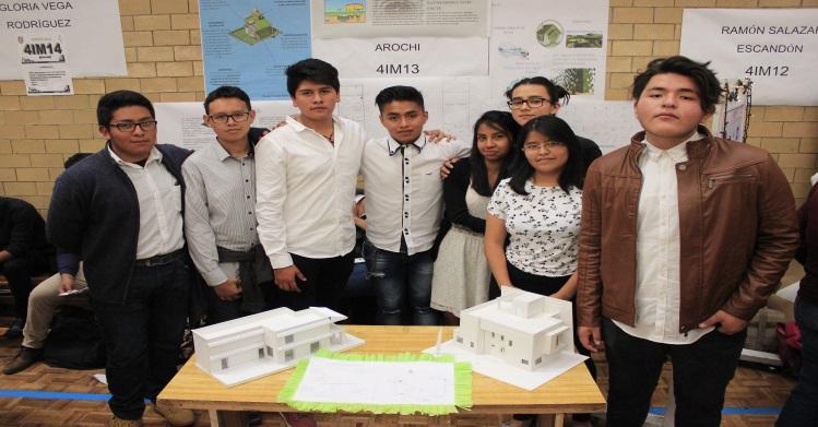 Estudiantes de IPN participan en creación de casa autosustentable