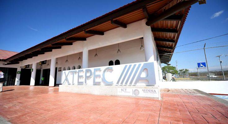SCT entregó las obras del Aeropuerto de Ixtepec