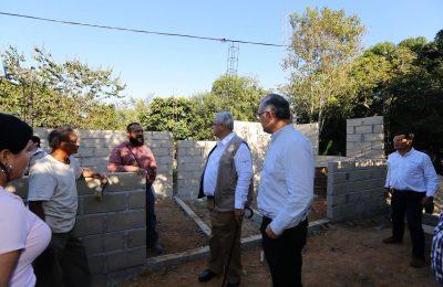 Fovissste supervisó avances de vivienda en Chiapas