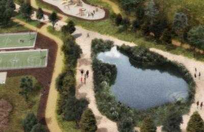Presentan proyecto para parque 'La Cañada'