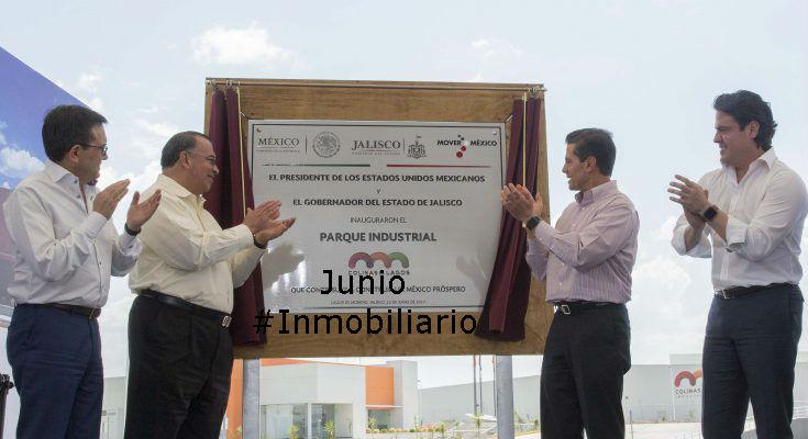 #LoMejorDelAño EPN inaugura parque industrial de Lintel